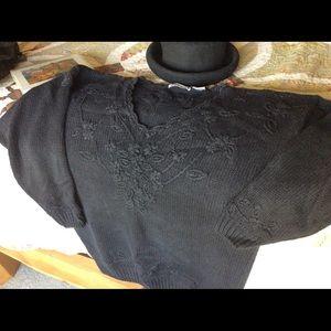 Express L Black sweater